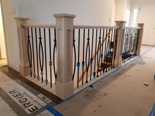 custom built handrails grand rapids MI